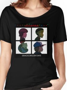 Stranger Things - Gorillaz Album Cover Style Women's Relaxed Fit T-Shirt