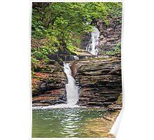 Deckertown Falls - Montour Falls, New york Poster