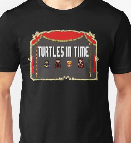 NCW Turtles in Time Official Merchandise Unisex T-Shirt