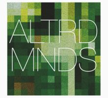 ALTERED MINDS PIXEL BLOCK by ALTRDMNDS