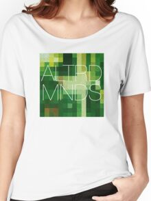 ALTERED MINDS PIXEL BLOCK Women's Relaxed Fit T-Shirt