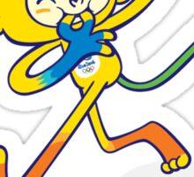 Rio 2016 mascot olympiade brasil Sticker