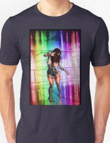 Dancing Robot 001 Unisex T-Shirt