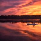 Sunset Paddle by Kathy Weaver