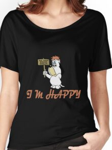 Droopy Dog Cartoon Women's Relaxed Fit T-Shirt