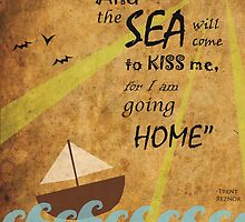 The Sea will Come to Kiss Me by TheMindBlossom