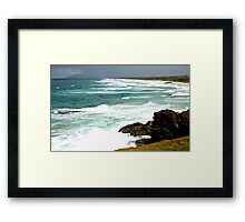 Lighthouse Beach, Port Macquarie, NSW. Australia. Framed Print