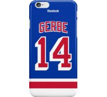 New York Rangers Nathan Gerbe Jersey Back Phone Case iPhone Case/Skin