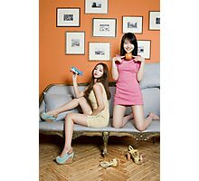 Loveless Girls Photographic Print