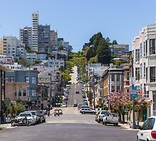 Along Lombard Street by TomGreenPhotos