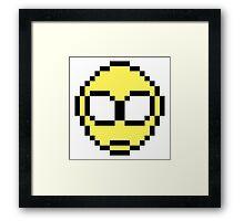 Yellow Alien Framed Print