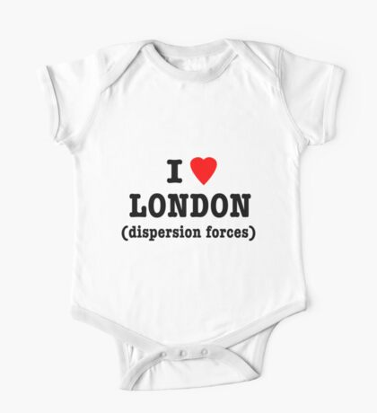 I Love London (Dispersion Forces) One Piece - Short Sleeve