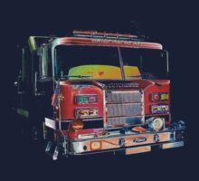 firetruck study Kids Tee