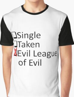 Evil League Of Evil Member Graphic T-Shirt