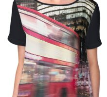 bus in london Chiffon Top