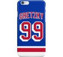 New York Rangers Wayne Gretzky Jersey Back Phone Case iPhone Case/Skin