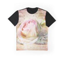 Swan Lake Rose Graphic T-Shirt