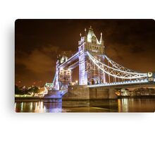 tower bridge view  Canvas Print