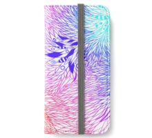 Rainbow leaf Style iPhone Wallet/Case/Skin