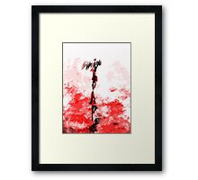 Out of Hell Framed Print