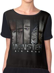 Monster Bigbang Women's Chiffon Top