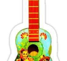 Toy guitar Sticker