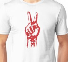 RWB Royal Ocean Victory Peace Red Right Hand Unisex T-Shirt