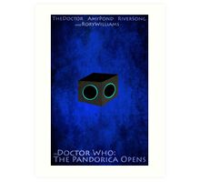 Doctor Who: The Pandorica Opens Art Print