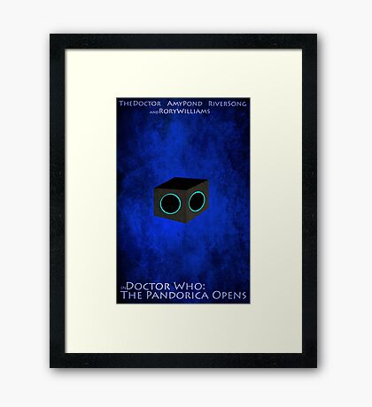 Doctor Who: The Pandorica Opens Framed Print