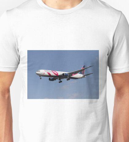 Delta Airlines Boeing 767 Unisex T-Shirt