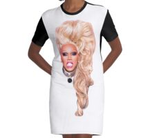 RuPaul Graphic T-Shirt Dress