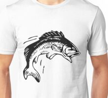 Fish leaping out of the water Unisex T-Shirt