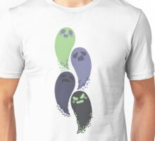 Four Ghosts Unisex T-Shirt