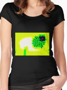 BRIGHT, UNUSUAL, & DIFFERENT Women's Fitted Scoop T-Shirt