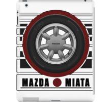 Mazda Miata Daisy Wheel iPad Case/Skin