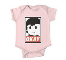 "Ness OKAY (""OBEY"") One Piece - Short Sleeve"