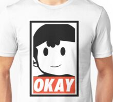 "Ness OKAY (""OBEY"") Unisex T-Shirt"