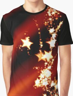 Star Trails Graphic T-Shirt