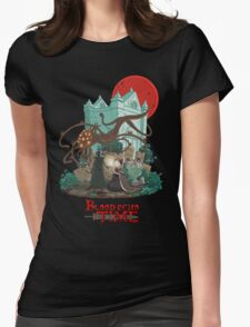 Blood Echo Time Womens Fitted T-Shirt