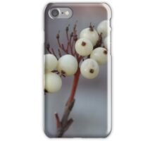 White Berries iPhone Case/Skin