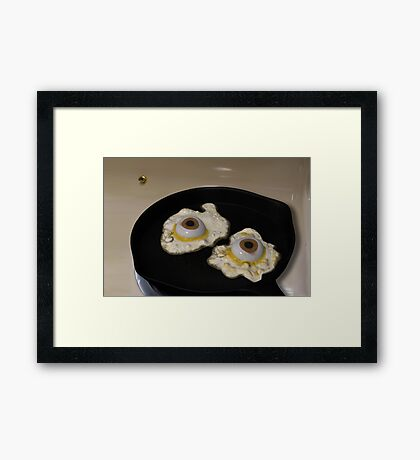 Fried or Scrambled? Framed Print