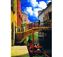 HDR in venice 1 Photographic Print