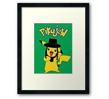 Pikachu - Pikajew , Pokemon Framed Print