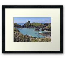 A Tranquil sea. Framed Print