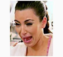 Kim Kardashian Crying Face Meme Unisex T-Shirt