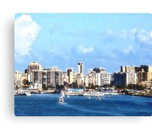 San Juan Skyline Canvas Print