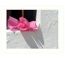 Aegean Colours III Art Print