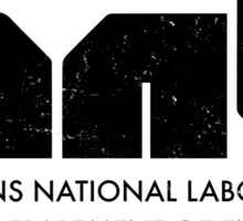 Hawkins National Laboratory Sticker