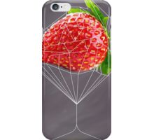 Strawberry cocktail iPhone Case/Skin