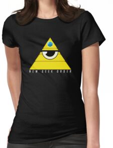 New Geek Order Illustration Womens Fitted T-Shirt